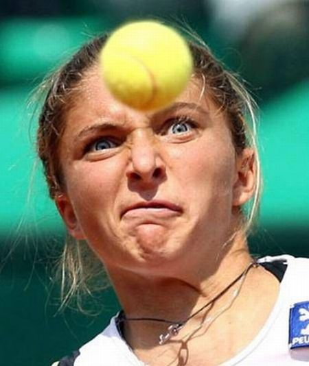 Funny tennis picture 3